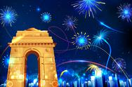 Stock Illustration of Celebration of India