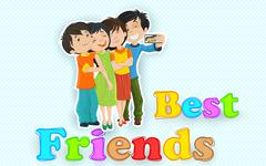 Stock Illustration of Happy Friendship Day