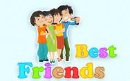 Stock Illustration of Happy Friendship Day