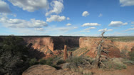 Stock Video Footage of Arizona Canyon de Chelly Spider Rock overlook