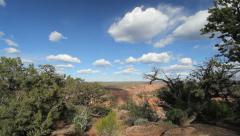 Arizona Canon de Chelly Spider Rock overlook Stock Footage