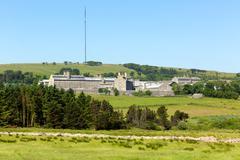Dartmoor vankilassa Devon England British vankilassa Princetown Kuvituskuvat
