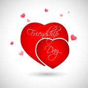 Happy Friendship Day Stock Illustration