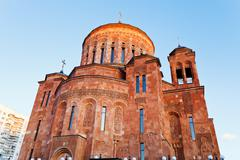 Armenian cathedral Stock Photos