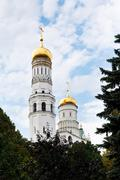 Stock Photo of ivan the great bell tower in moscow kremlin