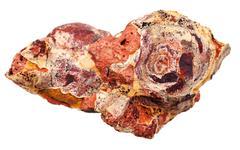 Rock sedimentary mineral Stock Photos