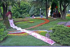 Kiev - jul 20: 1025th anniversary of kyivan rus christianity celebration. Stock Photos