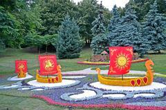 Kiev - jul 20: 1025th anniversary of kyivan rus christianity celebration Stock Photos