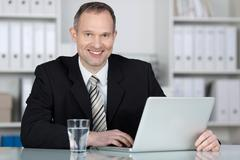 competent businessman - stock photo