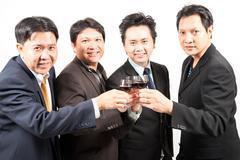 business celebration - stock photo