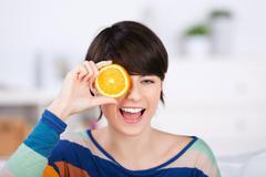 Stock Photo of healthy orange