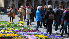 Belgium, Grand-Place - Brussels 26 Stock Footage