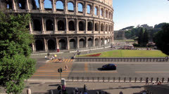 Colosseo - Summer in Rome - stock footage