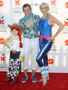 Stock Photo of 17th annual dream halloween to benefit the children affected by aids foundati