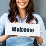 Stock Photo of welcome