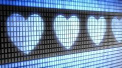Heart shape Stock Footage