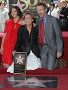 Emma thompson receives star on the hollywood walk of fame Stock Photos
