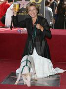 Stock Photo of emma thompson receives star on the hollywood walk of fame