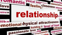 Relationship creative hd animation Stock Footage