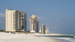 Perdido Key Beach Stock Footage