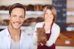 Male customer Stock Photos