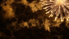 Dazzling Fireworks Stock Footage