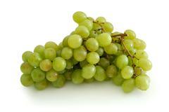green grape cluster - stock photo