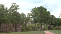 College Campus 1 Stock Footage