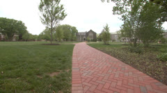 College Campus 3 Stock Footage