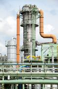 Piping system and equipment Stock Photos