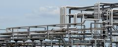 Piping systems Stock Photos