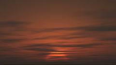 sunrise in africa 4k - stock footage