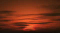 Sunrise in africa 4k Stock Footage