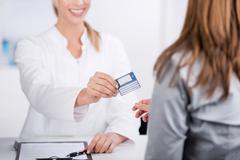 Stock Photo of health card