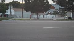 Time Lapse kids playing bike ride Stock Footage