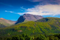 Ben Nevis Scotland - stock photo