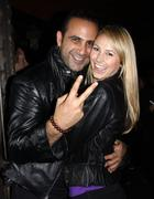 Sam nazarian and stacy keibler.sbe's hyde lounge grand opening at the staples Kuvituskuvat