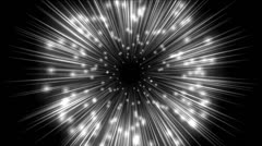 Abstract black hole Stock Footage