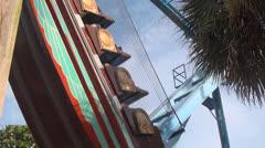 Huvipuisto ratsastaa, Fun, vapaa-aika, 2D, 3D Arkistovideo