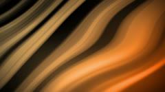 Wavy Lines Amber Orange Stock Footage