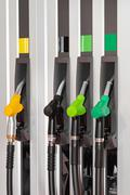 Fuel dispenser Stock Photos