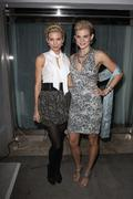 Annalynne mccord and angell mccord.tyra banks 'america's next top model' part Stock Photos