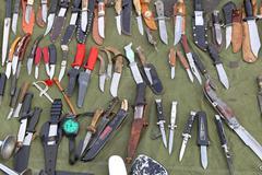Knives Stock Photos