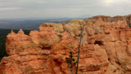 Stock Video Footage of Bryce Canyon 14 Hoodoos and clouds