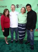 Linda small, neal freser, mary sue milliken, george lopez.23rd annual great c Stock Photos