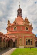 Jindrichuv hradec (neuhaus) castle in southern bohemia, czech republic Stock Photos