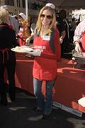 Katherine boecher.kirk douglas and anne douglas hosts the 5th annual thanksgi Stock Photos