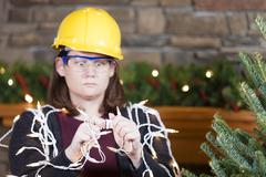 Holiday safety Stock Photos