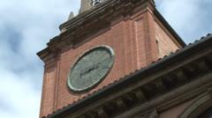Bologna, Palazzo dell' Archiginnasio, courtyard, Italy Stock Footage
