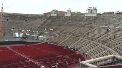 Verona, Roman Arena, Italy Stock Footage